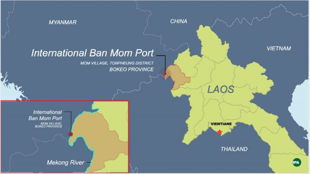 Chinese Casino Kingpin Behind New Mekong Port to Serve Golden Triangle SEZ in Laos